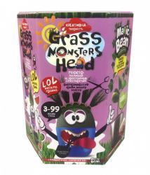 "Набор ""Grass Monsters Head"" /8   GMH-01-01/08   Растущие питомцы-монстрики"