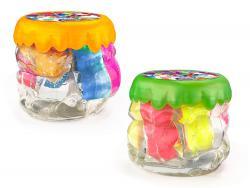 """В'язка маса """"Rainbow Fluffy Slime""""  4XL 400г рос/6 RFS-01-01"""