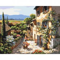 "Картины по номерам на холсте  ""Пейзажи Тосканы"" КН2232"
