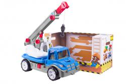 Технок  Транспортная игрушка Автокран ТехноК арт 3893