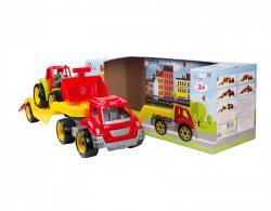 Технок  Транспортная игрушка Автовоз + Трактор арт 3916