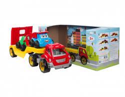 Технок  Транспортная игрушка Автовоз со стройплощадкой ТехноК арт 3930