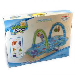 """""""Carpet Game""""  Коврик для малышей """" Море"""" с дугами + 5 игрушек  G38174/612"""