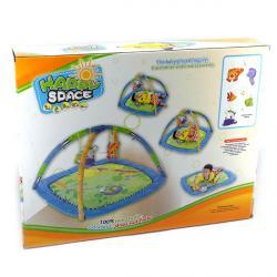 """""""Carpet Game""""  Коврик для малышей """" Лягушка"""" с дугами + 5 игрушек  G38175/613"""
