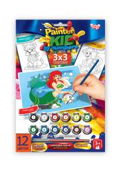 "Набор Раскраска по номерам ""Painter Kids by numbers"" /10 /20  PKN-01-01/10"