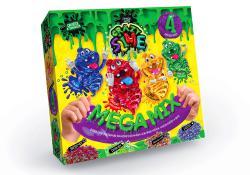 """Набор для опытов """"Crazy Slime""""ручной лизун Mega mix рус./10    SLM-03-01/04"""