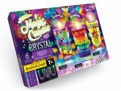 """Набор  MgC-02-01  Парафиновые свечи с кристал.""""M.Candle Crystal"""" /5"""