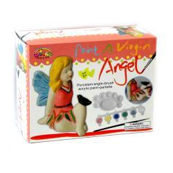 Раскрась ангелочка